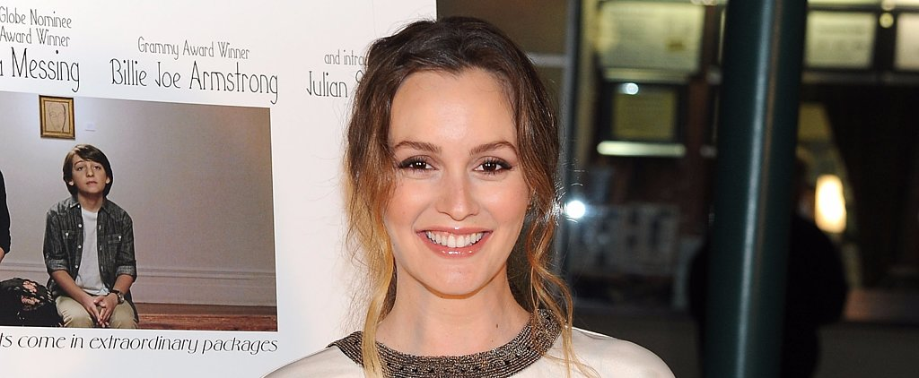 Leighton Meester Steps Out For Her New Movie