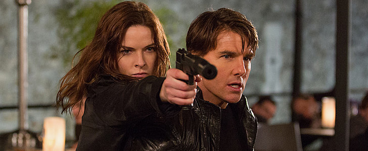 Tom Cruise Takes On Some Crazy Stunts in New Mission: Impossible Pictures