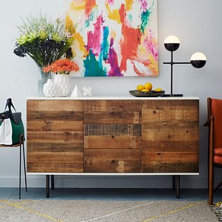 Reclaimed Wood Ikea Hack