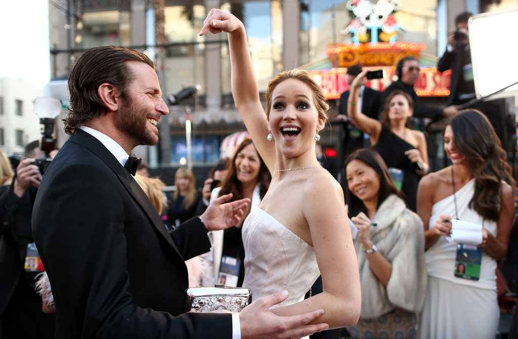 Cute Jennifer Lawrence and Bradley Cooper Pictures | POPSUGAR ...