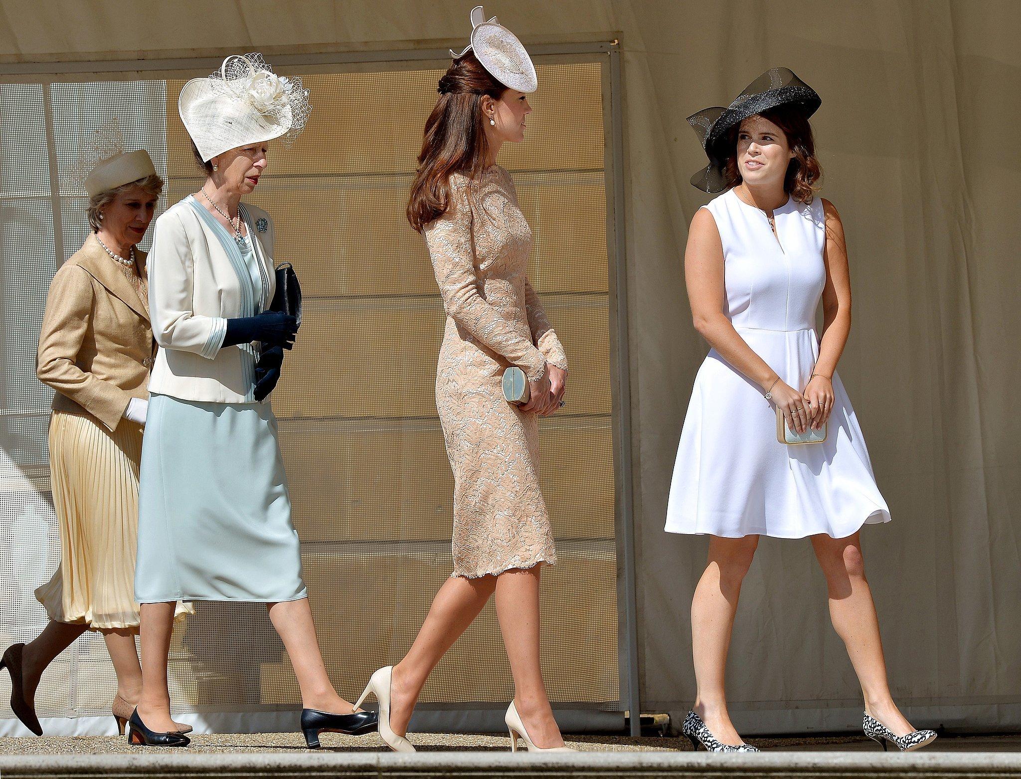 Princess Eugenie And Catherine Duchess Of Cambridge Led