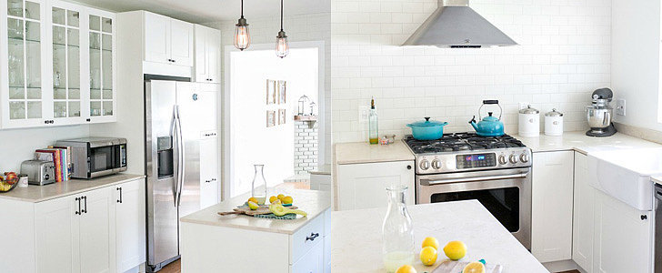 An Ikea Kitchen Remodel That Resembles a European Cafe