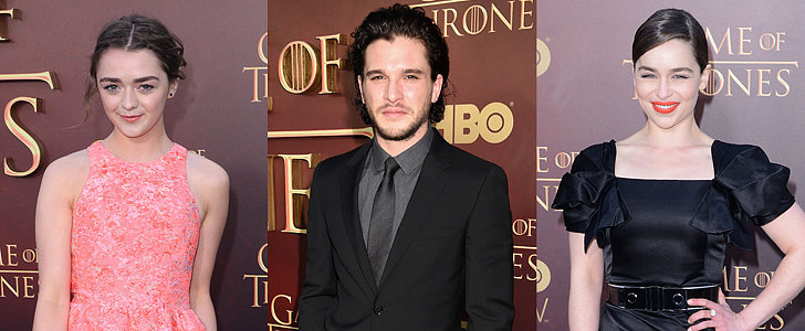 The Game of Thrones Cast Cleans Up Rather Nicely