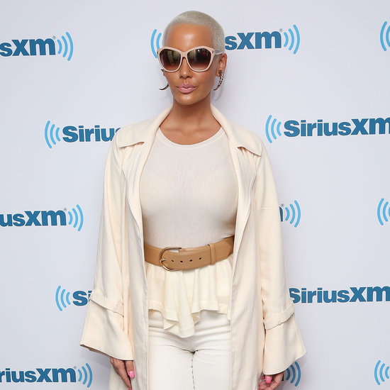 Amber Rose Nude on the Beach Pictures