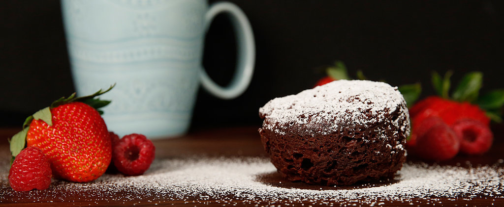 Microwave Flourless Chocolate Mug Cakes