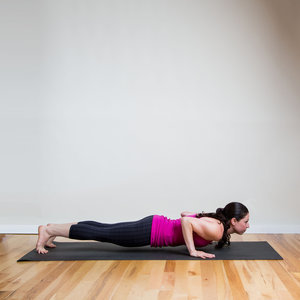 Yoga Chaturanga Push-Ups to Tone Triceps