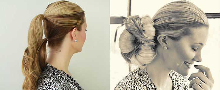 DIY This Oversize Bridal Bun For Your Big Day