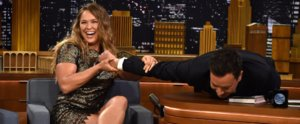Ronda Rousey Demonstrates to Jimmy Fallon Why She Dominates the UFC