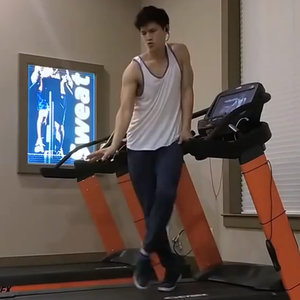 Glee Harry Shum Jr Treadmill Dance