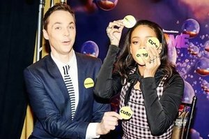 "Rihanna And Jim Parsons Play ""Never Have I Ever"""