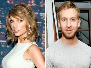 Taylor Swift, Calvin Harris Hold Hands at Nashville Concert