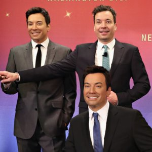 Jimmy Fallon Video Singing With Wax Figures