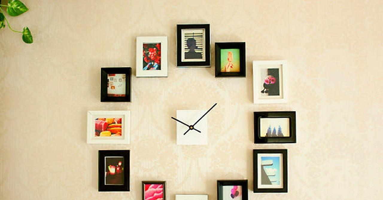 Часы своими руками на стену фото
