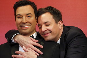 Jimmy Fallon Now Has Five Wax Figures Of Himself And He Couldn't Be Happier