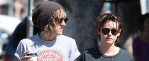 Kristen Stewart and Alicia Cargile Kick Off the Weekend With a Casual Date