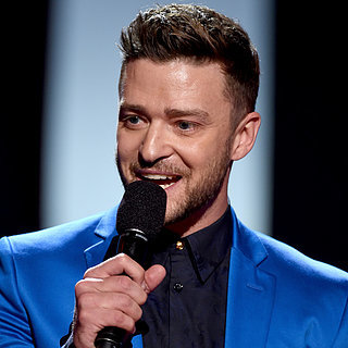 Justin Timberlake at the 2015 iHeartRadio Mus