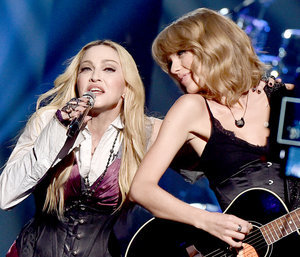 Taylor Swift Lives the Dream, Performs With Madonna at iHeartRadio Awards 2015