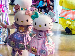 'Hello Kitty Disneyland' In Japan Is Absolute Purrfection