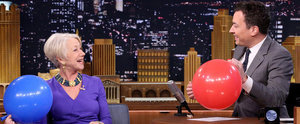 It's Hysterical to Watch Helen Mirren Get Interviewed While on Helium