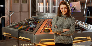 Maisie Williams Is About To Time Travel To 'Doctor Who'