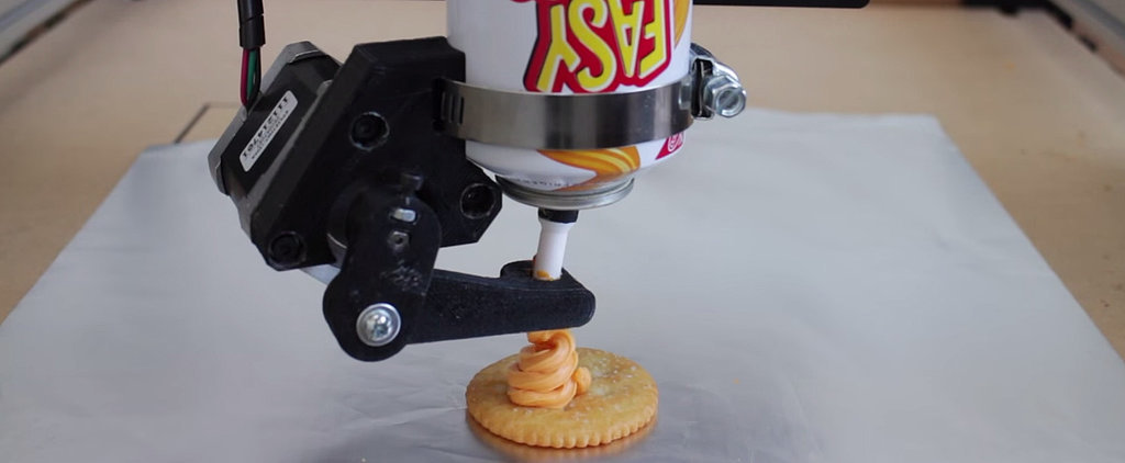 Finally!  A Mechanical Way to Make a Leaning Tower of Cheeza!