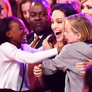 Angelina Jolie With Shiloh and Zarah at Kids' Choice Awards