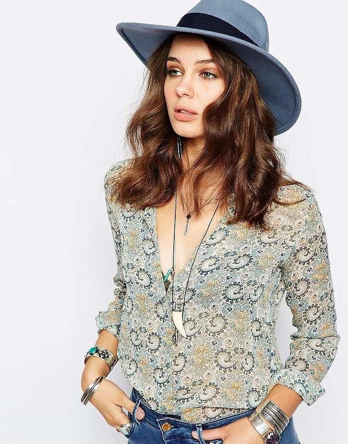 Catarzi Wide-Brim Fedora Hat
