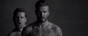 "David Beckham Is Both Hilarious and Hot in His New Underwear ""Ad"""
