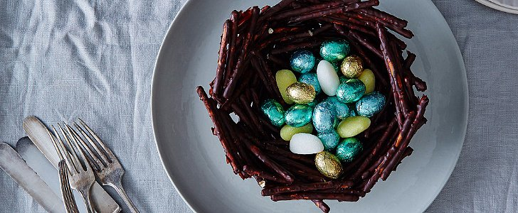 A Sweet Edible Nest For Easter Time