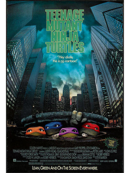 Cowabunga! The Teenage Mutant Ninja Turtles Movie Turns 25