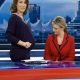 We Wish This Were a Prank: Pregnant Meteorologist Called