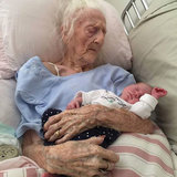 Grandmother in Heartwarming Viral Photo Has Died at 101
