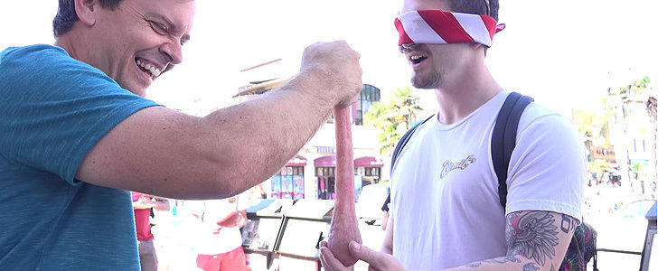 Guy Tricks People Into Touching Balls to Create Awareness For Testicular Cancer