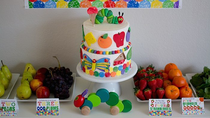 Host a Very Hungry Caterpillar Party For Your Toddler