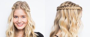 DIY the Waterfall Braid Remix That's Perfect For the Weekend