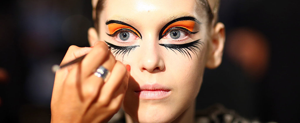 Romance Was Born Officially Has the Craziest Fashion Week Beauty Looks
