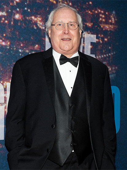 Who Did Chevy Chase Slap Hard Across the Face the First Time They Met?