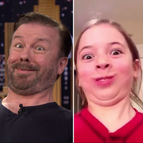 "Ricky Gervais Plays ""Funny Face Off"" With Jimmy Fallon"