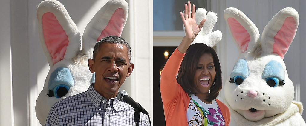 This Easter Bunny Totally Upstaged the Obamas at the White House