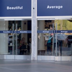 Dove Average and Beautiful Door Video