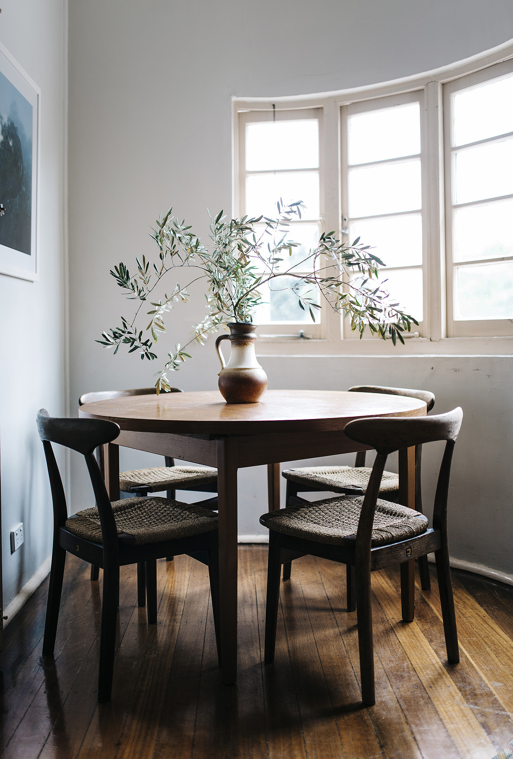 No need for curtains or extraneous decor in this unfussy for Dining room ideas australia