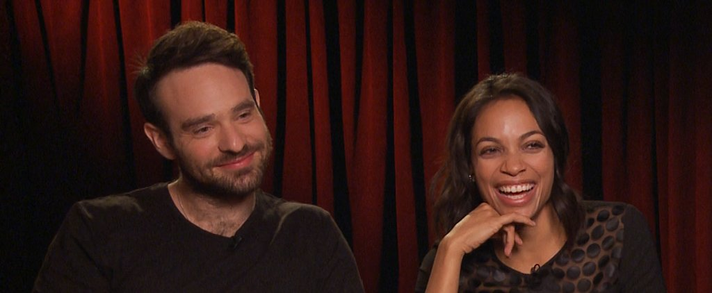 "Watch and Laugh as Daredevil's Rosario Dawson and Charlie Cox Play ""Superhero vs. Celeb"""