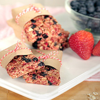 No-Bake Triple-Berry Granola Bars