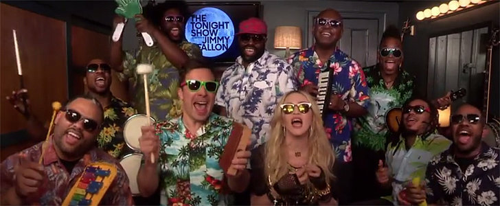 "Jimmy Fallon and Madonna's ""Holiday"" Cover Will Have You Ready For Vacation"