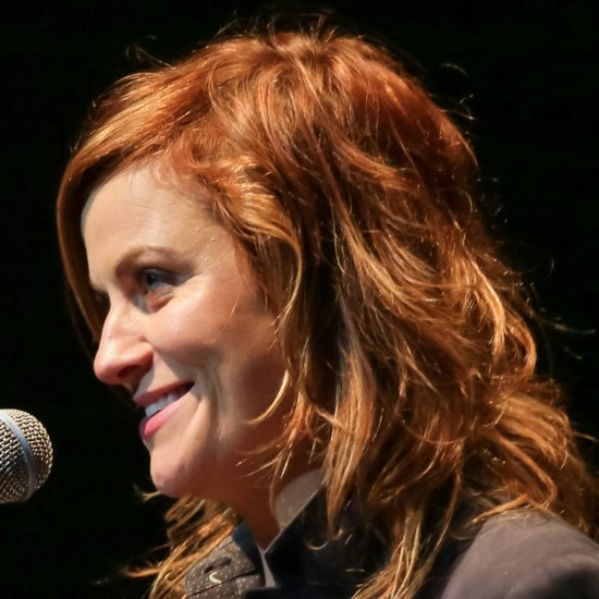 Amy Poehler's Red Hair   2015