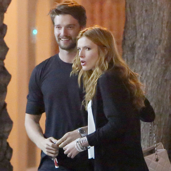 Patrick Schwarzenegger and Bella Thorne Having Dinner in LA