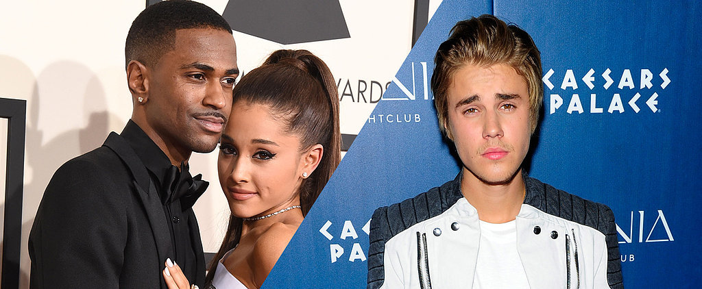 Yikes: Justin Bieber Pisses Off Big Sean After Hugging Ariana Grande on Stage