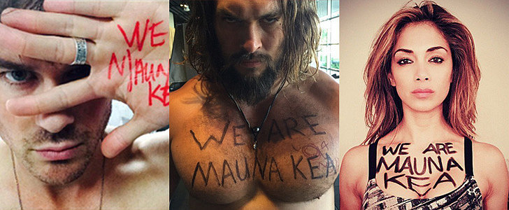 Jason Momoa and More Stars Throw Their Support Behind Mauna Kea