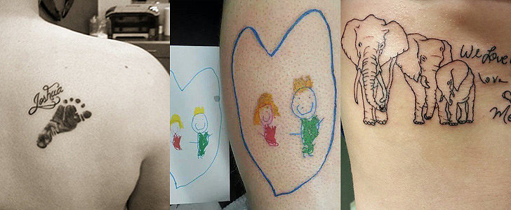 13 Ink Ideas to Celebrate the Love You Have For Your Child