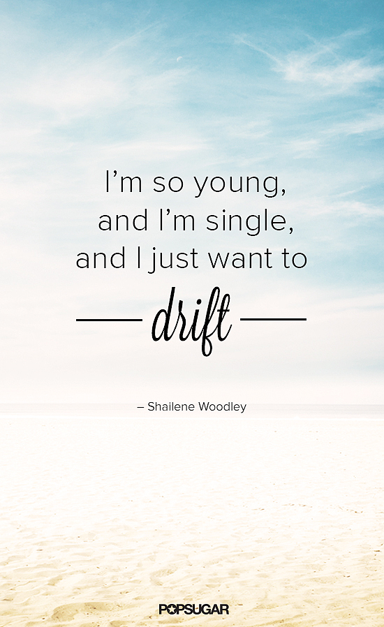 Shailene Woodley is into the free-spirit thing.